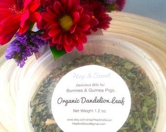 Organic Dandelion Leaf (1.2 oz) for Bunnies & Guinea Pigs