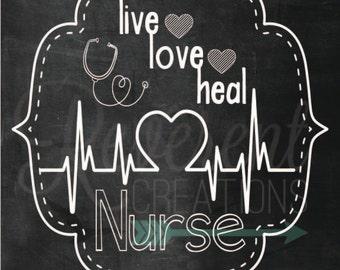 Nurse Digital Download
