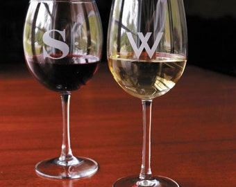 Personalized Wine Glasses (Set of 4)