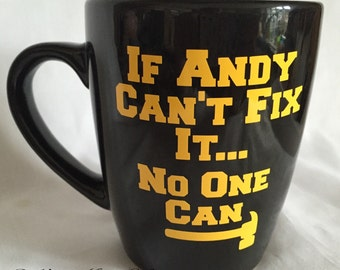 DIY mug, quirky male mug, male gift
