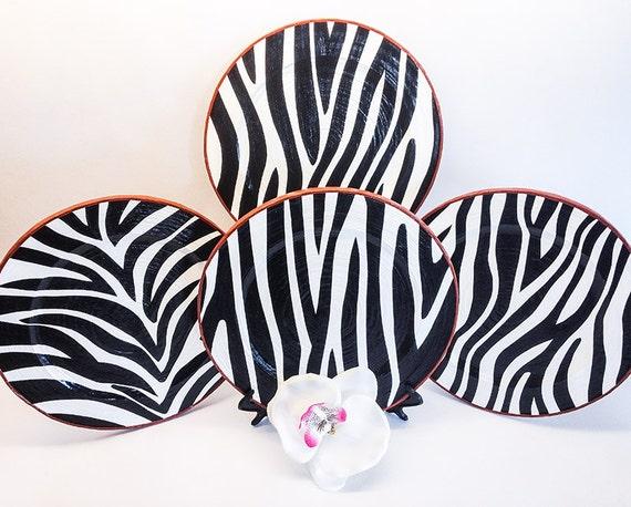 Zebra Decor Zebra Room Decor Zebra Kitchen Decor By