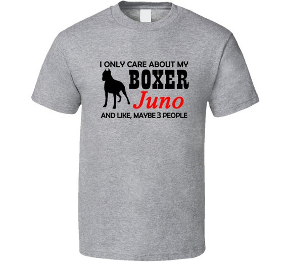 Boxer dog t shirt personalized boxer breed by for Custom pet t shirts