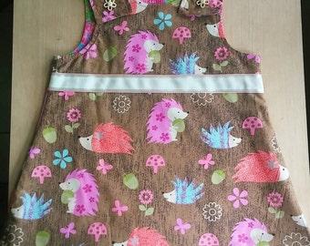 Reversible Porquipine/Pink Flower Dress
