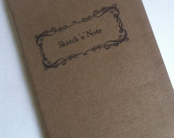 Sketch 'n' Note - Full Size refill for Midori Fauxdori Travelers Notebook