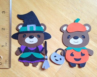 Halloween teddy bears 2