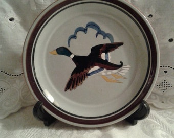 "Stangl Pottery ""Flying Duck Saucer"""