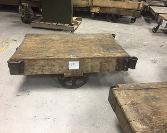 Vintage Original Factory Cart #19