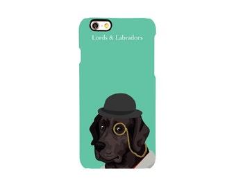 Phone Case: Mint & Labrador