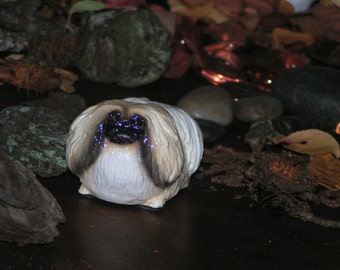 Pekingese Dog Collectible Figurine