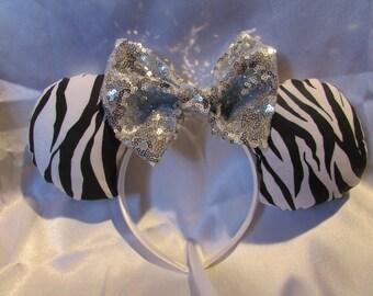 Zebra Animal Ears