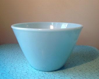 Vintage Fire King Splashproof Turquoise bowl
