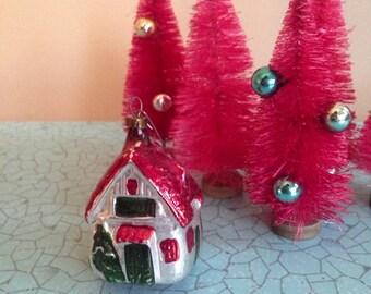Vintage Mercury House Ornament