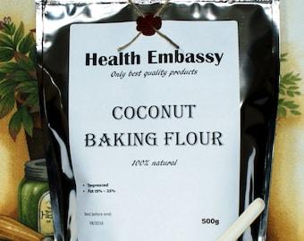 Coconut Baking Flour 500g - Health Embassy - Organic