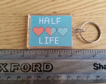 35 x 45 mm Keychain - Half Lifec