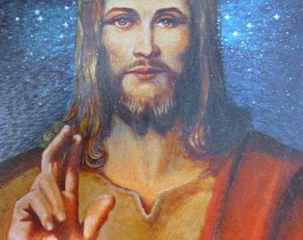Metal Etched Art - Jesus