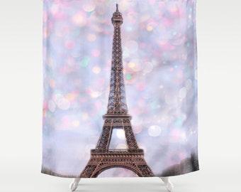 Paris Shower Curtain Etsy