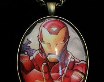 Marvel Avengers Iron Man Large Pendant