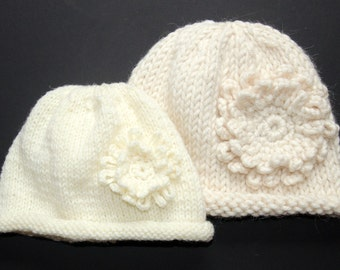 Kids Hats - Mother Daughter Hats - Kids Knit Accessories - Mom Gift  - Mommy and Me Outfiits - Hats - Knitted Hats - Mommy Me Clothing