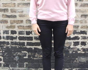 Pink Vintage Fitted Sweater