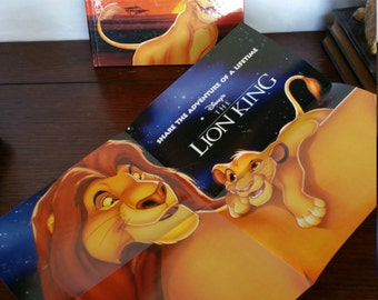 The lion king book  Etsy