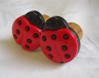 00g Plug, 11mm plug, 000g Plug, Ladybug Plug