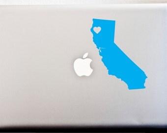 CALIFORNIA LOVE Decal Sticker SOCAL West Coast