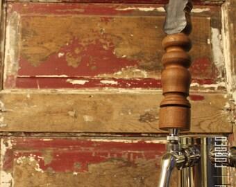 Repurposed Chalkboard Antique Furniture Tap Handle