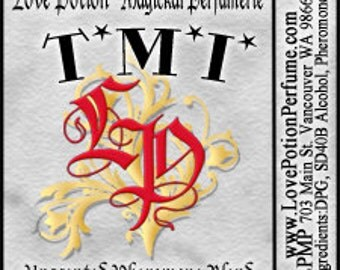 PHEROTINE! TMI - Unisex Pheromone Blend - Limited Ed UNscented Pheromone Trials by Love Potion Magickal Perfumerie