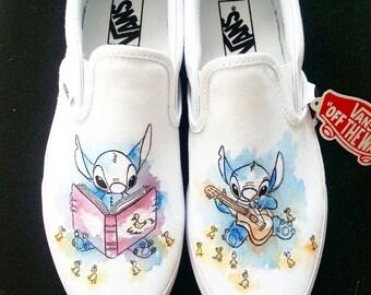 Disney Lilo And Stitch Custom Made Shoes