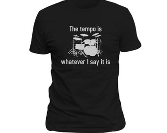 Drummer Shirt, Funny shirt for drummer, awesome drummer shirt, musician shirt, music shirt, band shirt, fan shirt, drums, fan gift #OS105