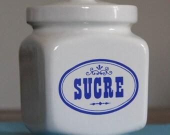 Pot / box sugar cube vintage - Excellent condition