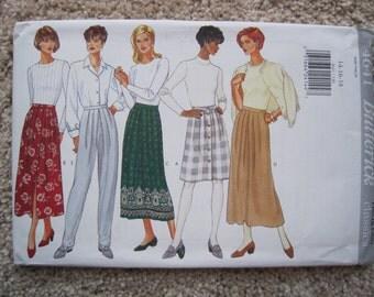 UNCUT Misses Skirt and Pants - Butterick 4641