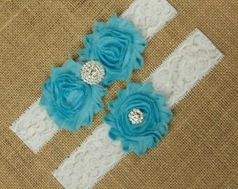 Garter Belt, Blue Garter Belt, Something Blue, White Lace Garter, Lace Garter Set, Lace Garter Belt, Wedding Garter Belt, Garter, SCWS-B06