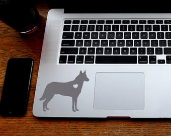 SUMMER SALE! Belgian Malinois Sticker Belgian Malinois Decal Car Laptop Vinyl Decal Sticker
