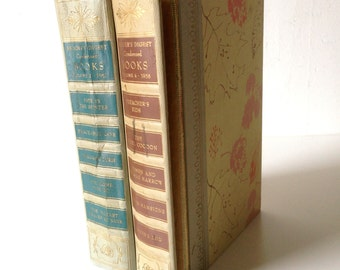 Vintage Reader's Digest Condensed Books - First Edition Volume 4 Of 1958 & Volume 2 Of 1961
