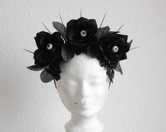 """Headpiece """"seeing flowers"""""""