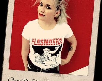 t-shirt PLASMATICS WENDY or WILLIAMS