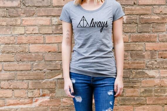 Always - Harry Potter - TriBlend Tee - Soft