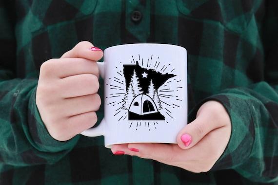 Minnesota CAMPING Mug | 11 oz.
