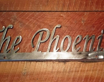 Custom Personalized Metal License Plate Topper