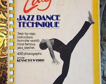 "The Luigi Jazz Dance Technique, INSCRIBED by Eugene L. Faccuito aka ""Luigi"", 1st Edition"