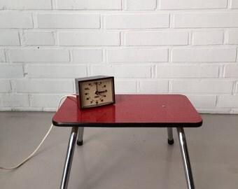 Vintage stool, foot stool, small table, 50's years, footstool, footstool, Midcentury