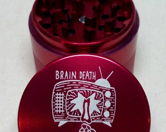Brain Death Herb Grinder - Artist Original