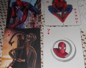 Three Spiderman Playing Cards - (L)