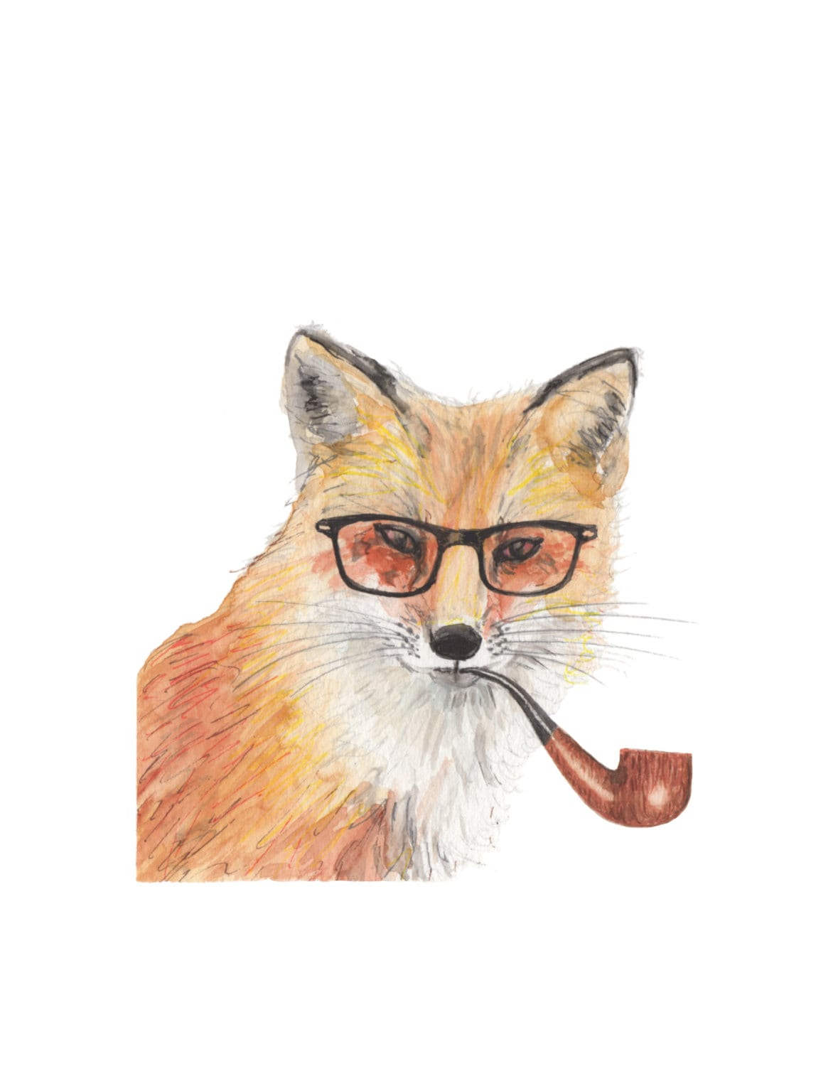 Hipster Animal Tumblr Hipster wall art hipst...