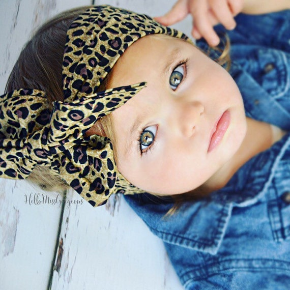 Coco Cheetah Gorgeous Wrap Headwrap Fabric Head Wrap