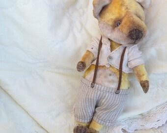 Lu Fox Artst Teddy Bear OOAK
