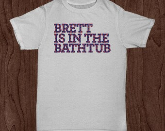 Phish T-Shirt – Brett is in the Bathtub Gin Lot Style T-Shirt