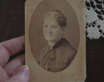 Grandmother-  Antique Carte de Visite