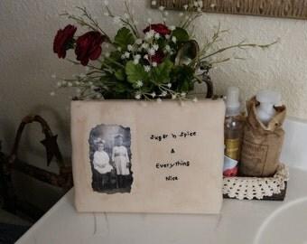 Long Lost Relatives Shelf Decor